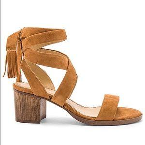 SPLENDID Brown Suede Sandals